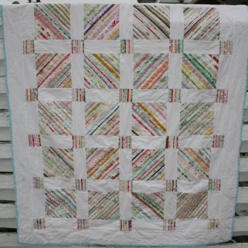 Scrappy Edge Free Quilt Pattern Tutorial