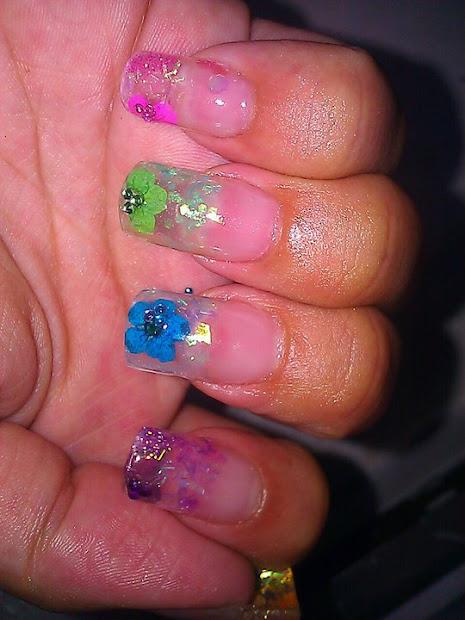 forevermacblushing nails real