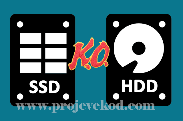 HDD Hardisk ile SSD Harddisk Arasında ki Farklar