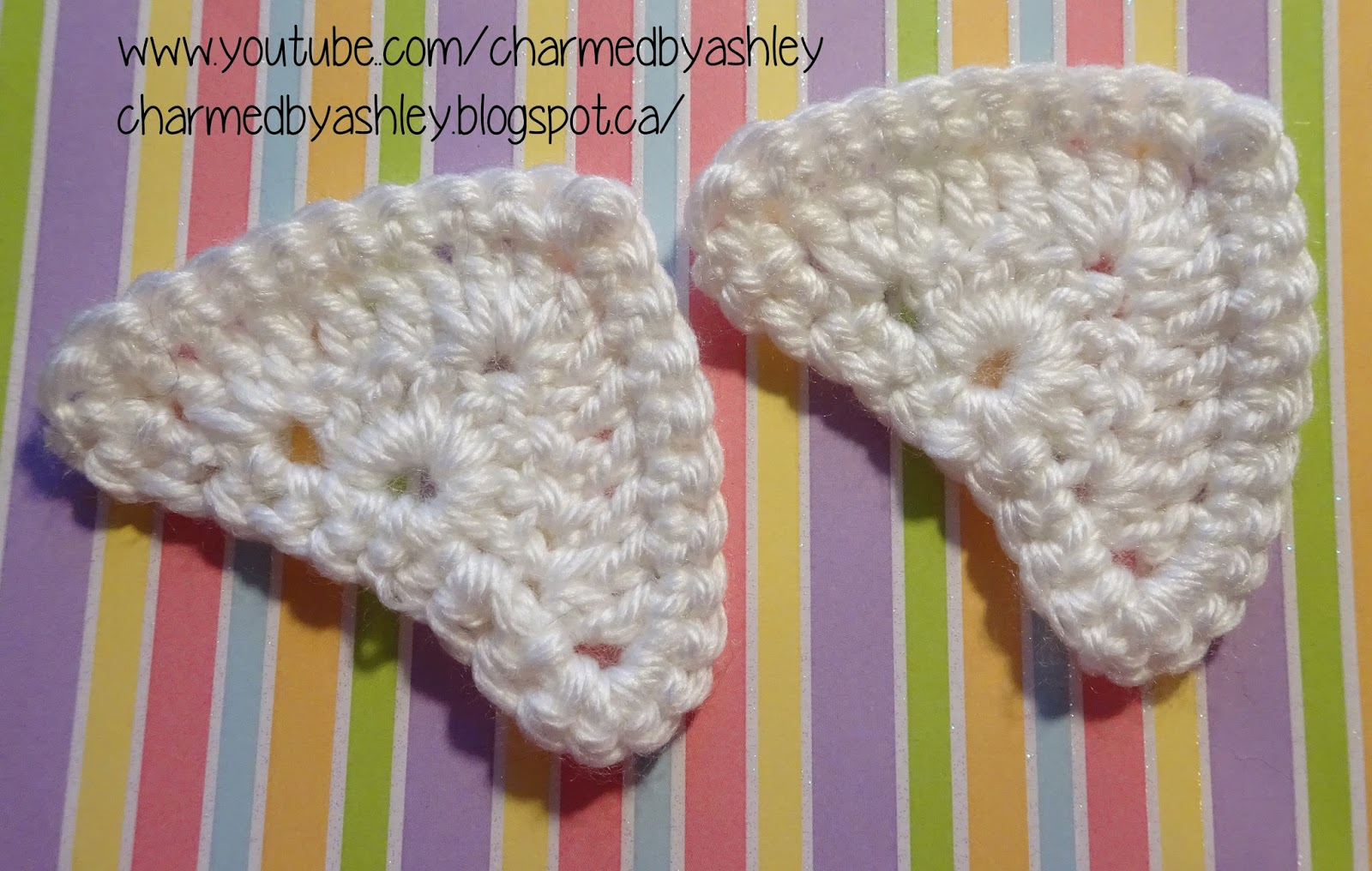 Cat ears Crochet Free pattern and tutorial - Charmed By Ashley