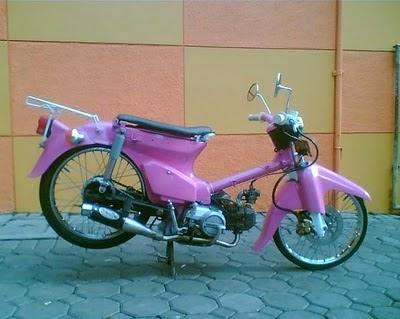 Modifikasi Motor Honda Astrea Terbaru
