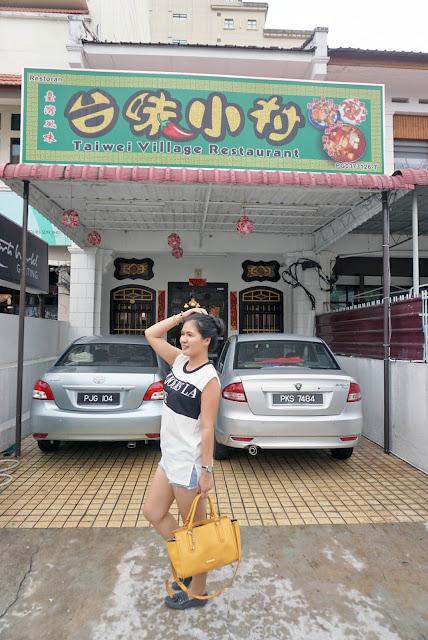 Taiwan Village Restaurant 台味小村 @ Abu Siti Lane, Penang