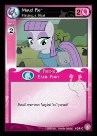 My Little Pony Maud Pie, Having a Blast Absolute Discord CCG Card