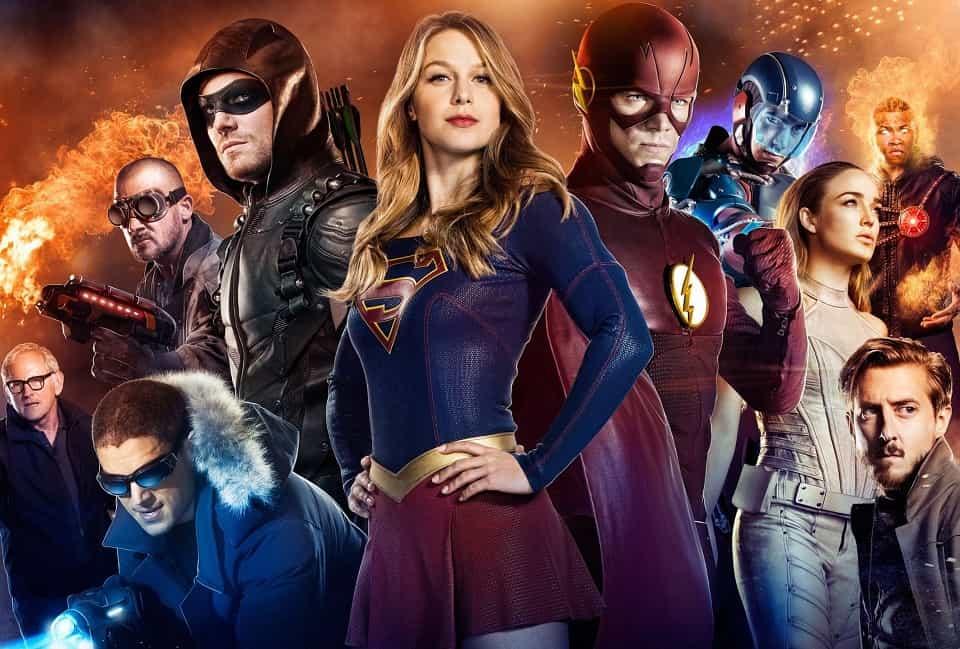 Кроссовер вселенной CW и DC в 2017 году, новый кроссовер Стрела Флэш Супергёрл Легенды завтрашнего дня, Стрела, Arrow, Флэш, The Flash, Супергёрл, Supergirl, Легенды завтрашнего дня, DC's Legends of Tomorrow, Сериалы, TV Series, DC, CW, кроссовер