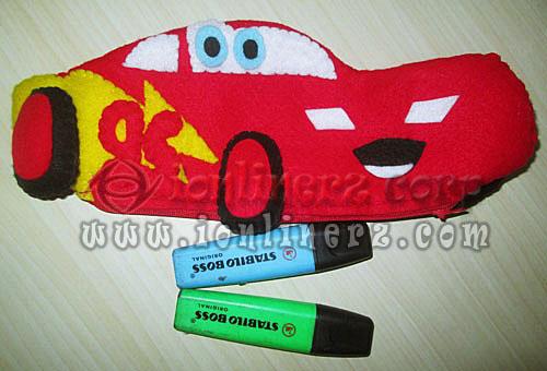 Produsen Tempat Pensil / HP Pouch Flanel Karakter Kartun Lucu, Murah Jakarta