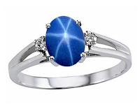 Image result for star sapphire ring  public domain