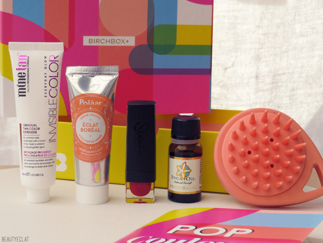 birchbox avril 2019 marques polaar sleek