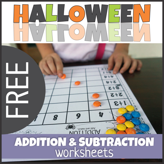FREE Additon and Subtraction Worksheets
