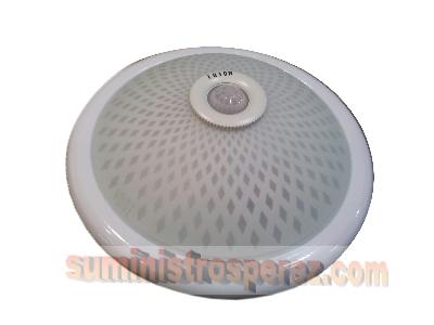 Iluminaci n led plaf n de techo con sensor de movimiento for Plafon pared led con sensor pir