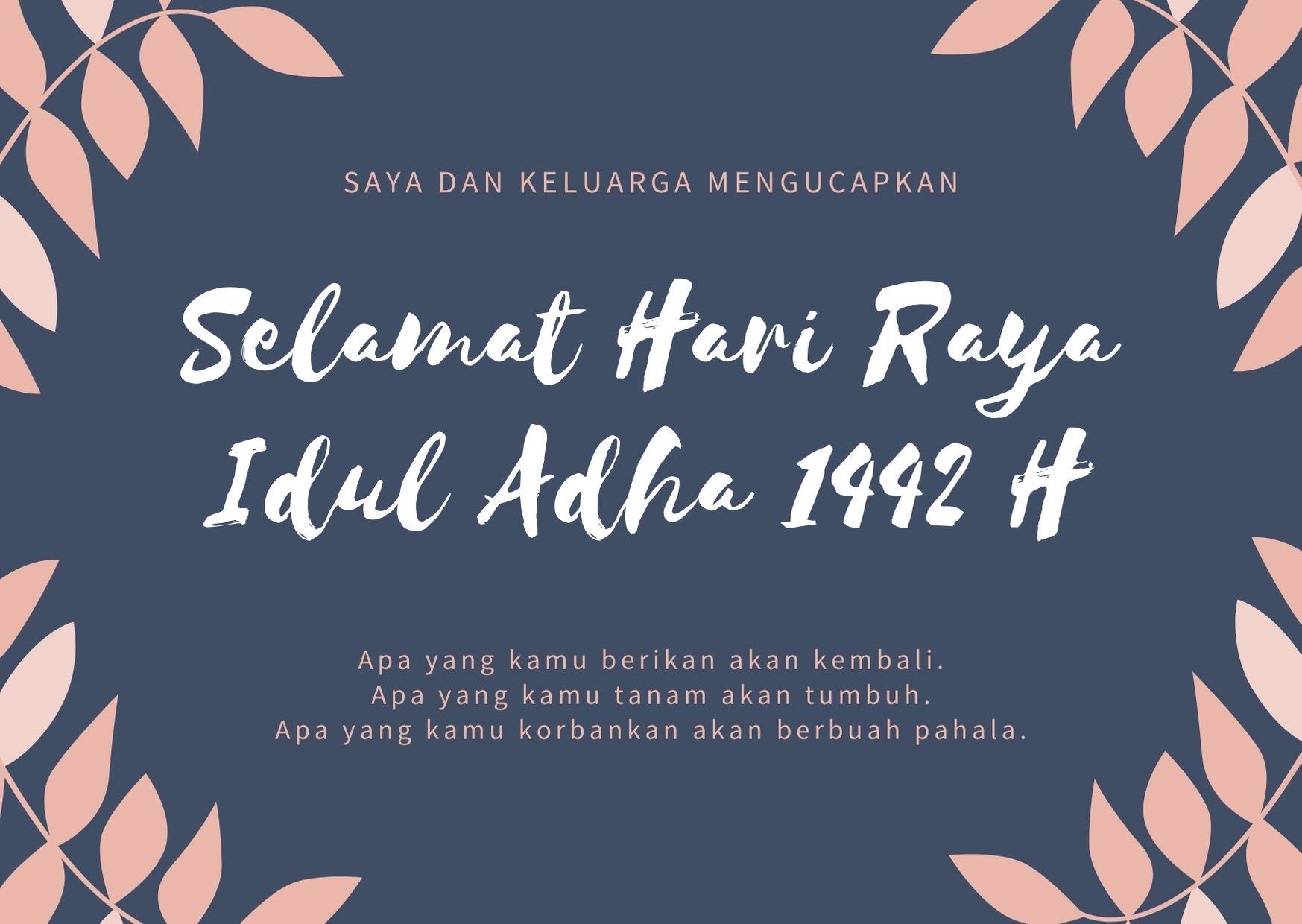Daftar Ucapan Selamat Hari Raya Idul Adha 2021