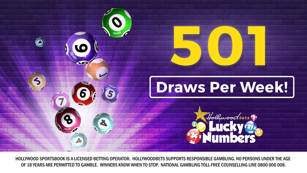 Lucky Numbers - 501 Draws a Week - Hollywoodbets - Lotto