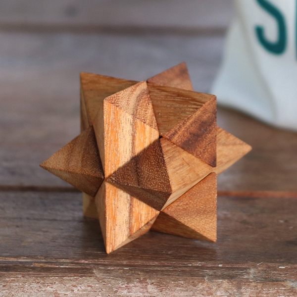 Shooting Star wooden puzzle