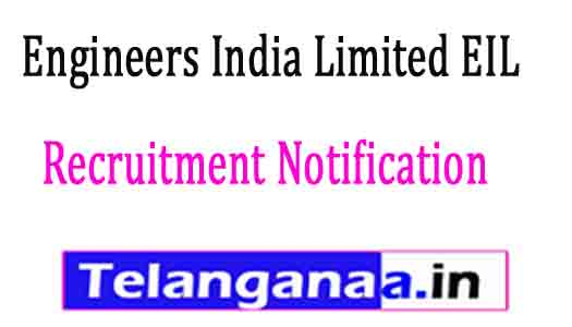 Engineers India Limited EIL Recruitment Notification 2017