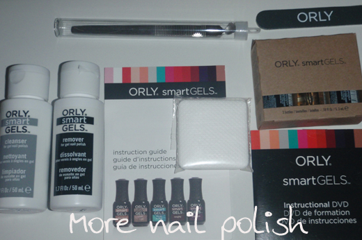 Orly smartgels mother's day special ~ more nail polish.