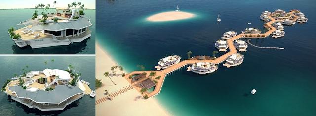 20 Pulau buatan manusia, dianggap terbaik di dunia.