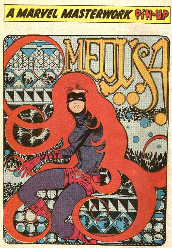 Barry Windsor-Smith Medusa Pin Up