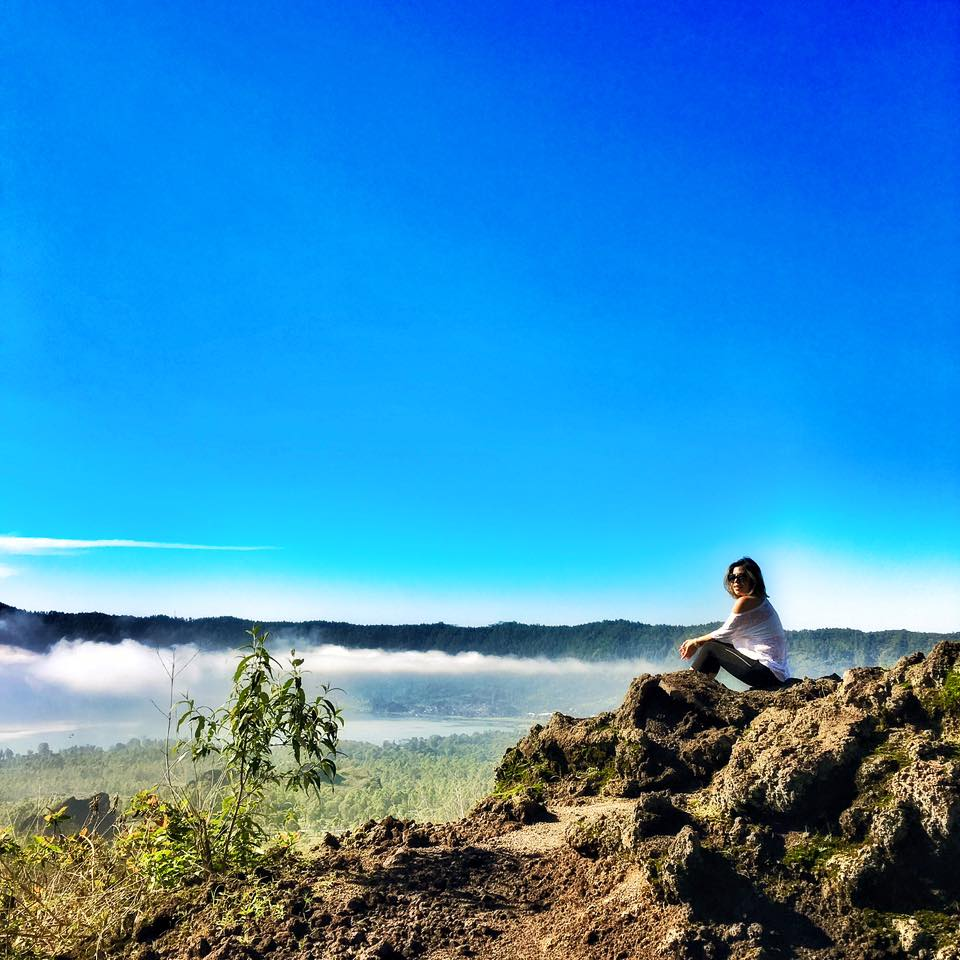 Crystal Phuong- #TravelwithCrystal- Bali, Mount Batur Volcano at sunrise