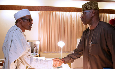 Photos of Newly Appointed SFG Meets Buhari