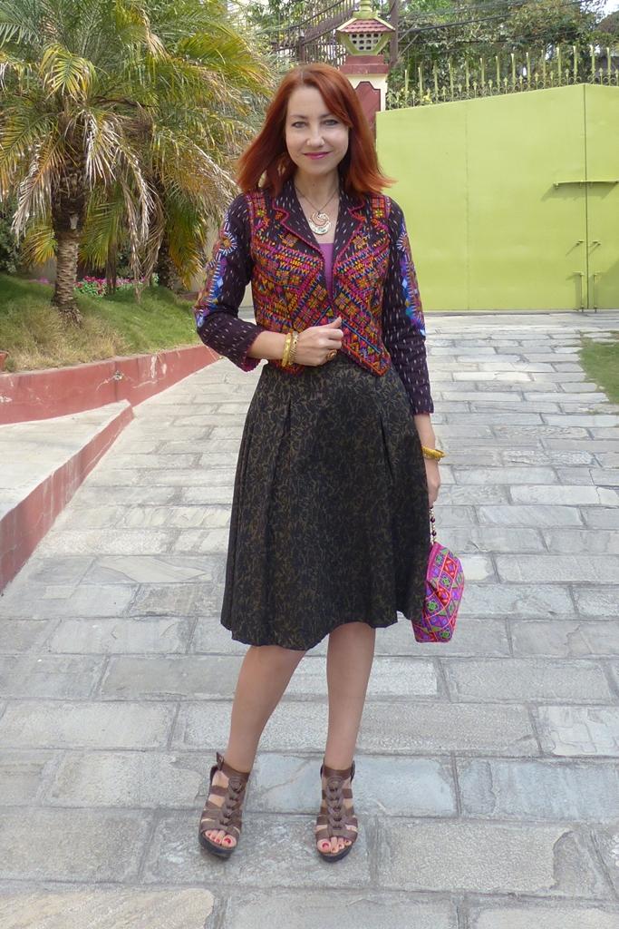 Local fashion ethnic jacket modern way