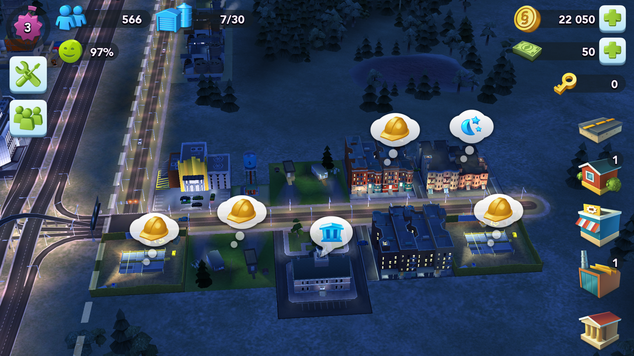 Make Money in SimCity BuildIt by Randomly Clicking on Blue Speech Bubbles!