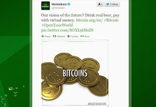 tweet heineken bitcoin addict