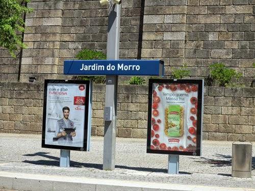Jardim do Morro Station, Vila Nova de Gaia, Portugal