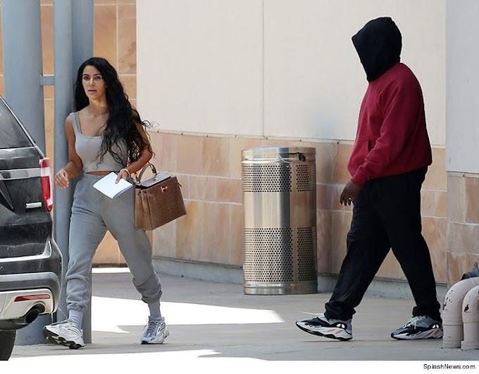 Kim Kardashian 'rushed her husband Kanye West to hospital for flu'