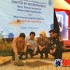 Wapres-Gubernur Pasang Batu Pertama Pembangunan Gedung Center of Microfinance Unhas