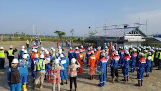 Upacara Hari Lahir Pancasila di Lapangan Jambaran Tiung Biru (JTB)