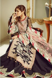 Maryam Hussain Newly Launched Meer Unstitched Luxury Wedding Collection 2019
