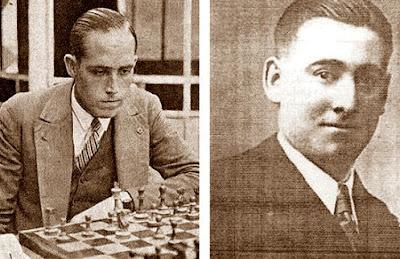 Los ajedrecistas Àngel Ribera Arnal y Ferran Alberola
