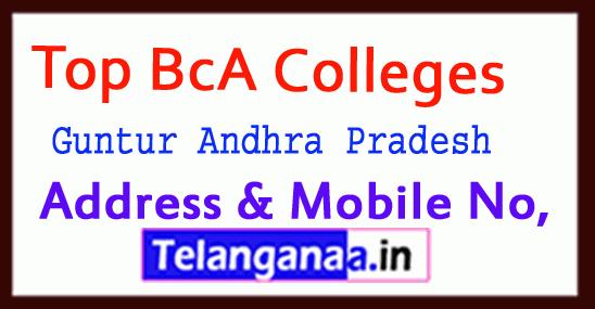 Top BCA Colleges in Guntur Andhra Pradesh