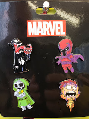 San Diego Comic-Con 2018 Exclusive Skottie Young Marvel Villains Enamel Pin 4 Pack