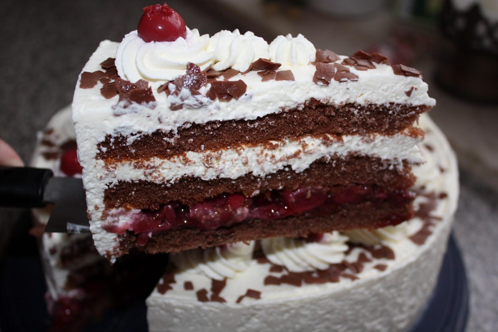 Dies Und Das Und Susse Sachen Schwarzwalder Kirsch Torte