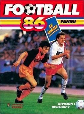 PANINI FOOT NOSTALGIE: Album Panini Foot 1985-1986