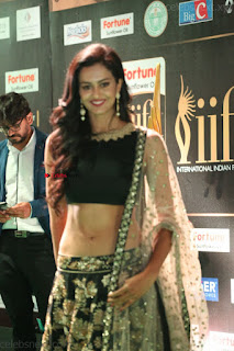 Sexy Shubra Aiyappa Cute Deep Hole navel lovely small boobs WOW Sexy stomach