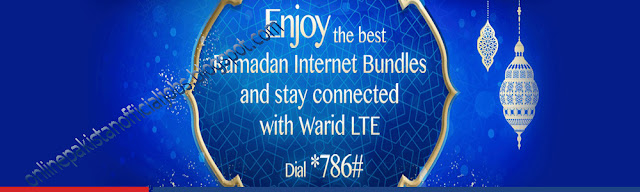 Warid Ramadan Internet Offer Latest