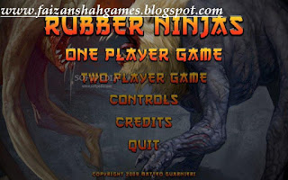 Rubber ninjas game.
