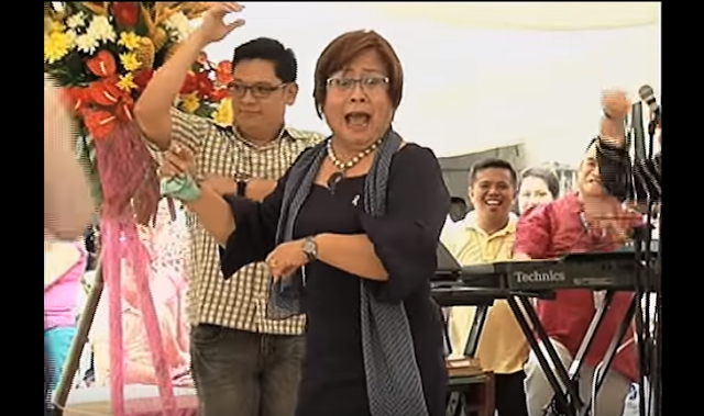 WATCH: De Lima dances 'Macarena'