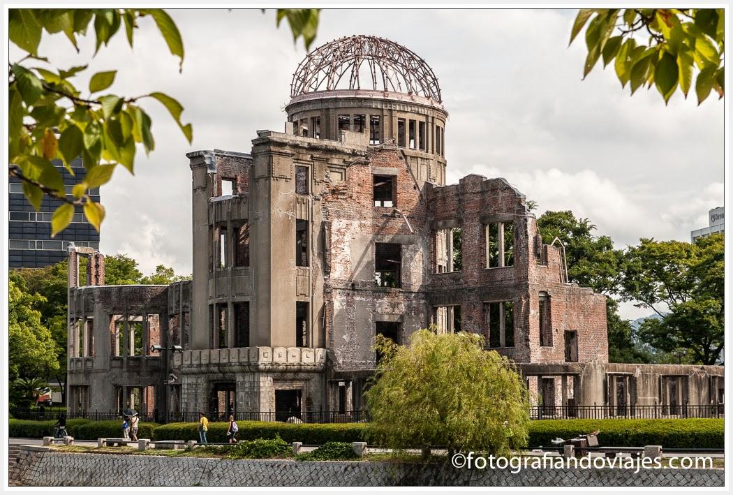 cupula de la bomba atómica en Hiroshima, Japon