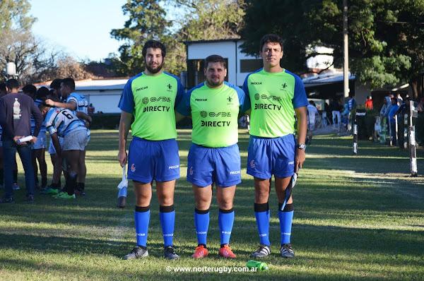 Árbitros: Carlos Navarro, Jeremías Volante y Alejandro Michel