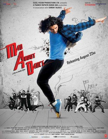 Mad About Dance (2014) HDRip 480p 300MB Hindi Movie