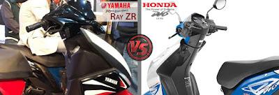 Yamaha Cygnus Ray ZR VS Honda Dio Riding and Handling