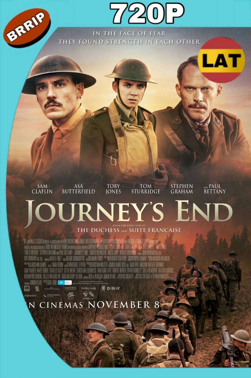 JOURNEY'S END (2017) BRRIP 720P LATINO-INGLES MKV