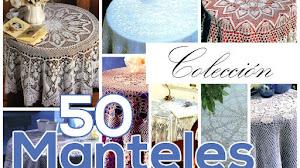 50 Patrones de Manteles Crochet / Colección