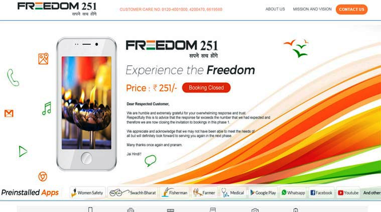 How to Track Shipping Status of Freedom 251