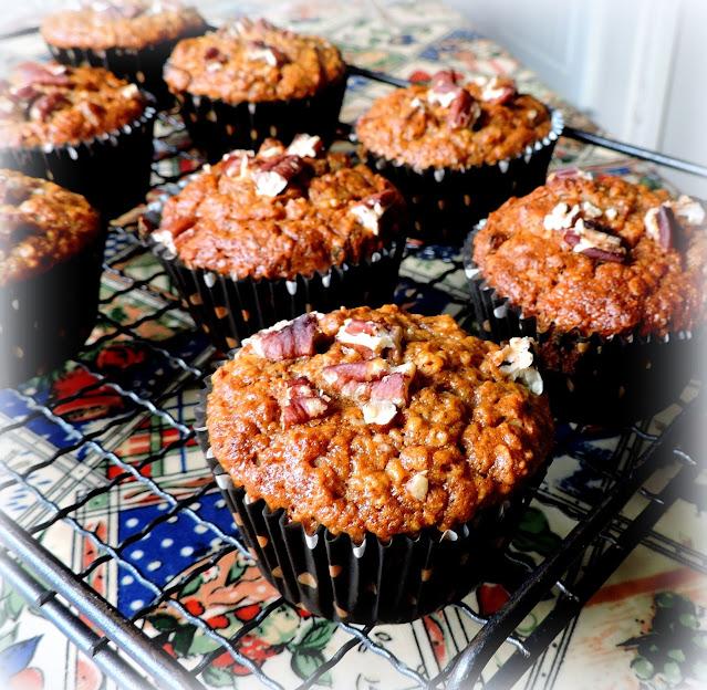 Apricot & Honey Muffins