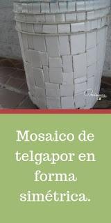 Tutorial para hacer mosaicos en latas. Blog de manualidades y artesanías. telgapor. reciclar