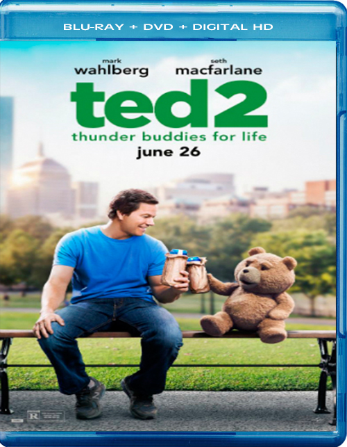 Ted 2 [2015] [DVDR – BD] [NTSC] [Latino] [Unrated] [Remasterizado]