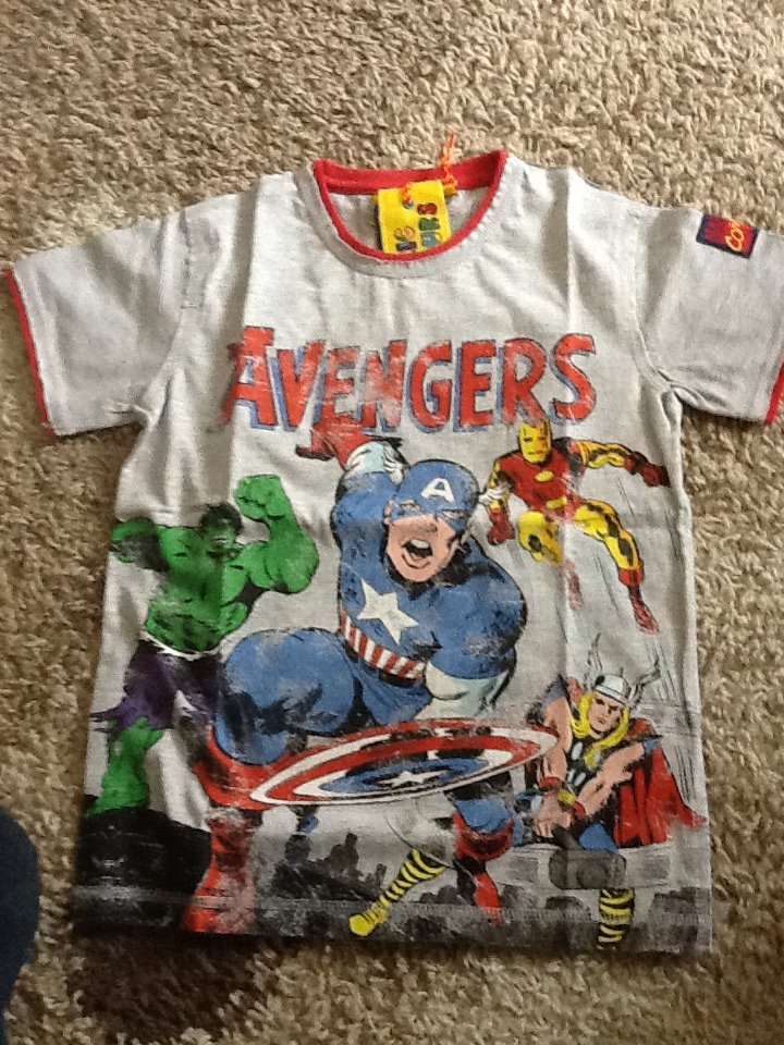 29f0be54 Trials & Tribulations Of A Brummie Mummy: Fabric Flavours Avengers ...